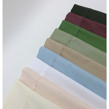 1500 COLLECTION COMPLETE MULTI-PIECE MICROFIBER BED SHEET AND DUVET COVER SET 95GSM - MULTIPLE COLORS
