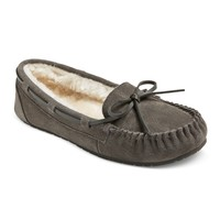 Women's Chaia Suede Moccasin Slippers - Mossimo Supply Co.™