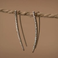 Diamond Dusted Spike Earrings