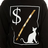 Men's Money Over Pussy Crewneck Sweatshirt