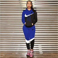 Nike Women's New Trend Letter Printing Fashion Casual Suit