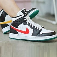 NIKE Air Jordan 1 AJ1 New Trending Women Men Leisure Sport Shoes Basketball Sneakers