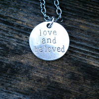 LOVE & Be LOVED Charm Necklace - Gift Boxed