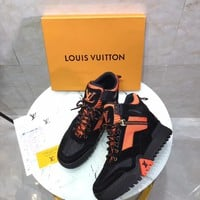 Louis Vuitton Lv Hiking High Top Men Sneaker Reference #10703 - Best Online Sale