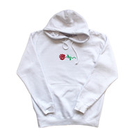 The Good Company — Rose Wave Hoody (White)