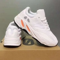Adidas Yeezy 700 Runner Boost Newest Running Sport Shoes Sneakers White I/A