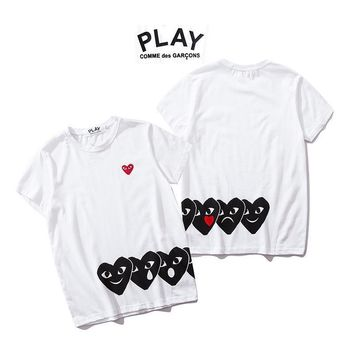 Stylish Couple Short Sleeve T-shirts [1840850206771]