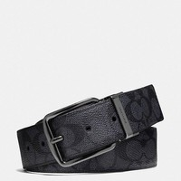 Cheap COACH men's Fashion Smooth Buckle Belt Leather Belt for sale 052