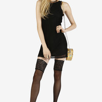 Mesh With Me Mini Dress