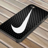 Nike Metal Swoosh Design iPhone 4/4S iPhone 5 Hard Case