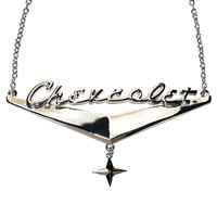 Chevrolet Star Detroit Chrome Necklace