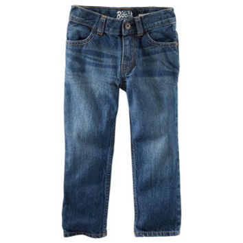 Straight Jeans - Anchor Dark