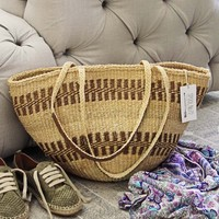 Vintage French Market Tote