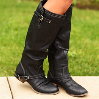 Outlaw Boots - Black