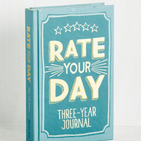 Rate Your Day 3 Year Journal | Mod Retro Vintage Desk Accessories | ModCloth.com
