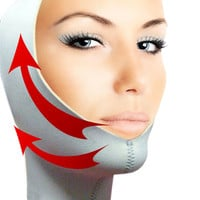 Wrinkle Free Chin Up Face Slimming Lifter Mask Shaper #A-7