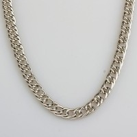 New Arrival Shiny Gift Jewelry Hip-hop Stylish Silver Club Necklace [10529030467]