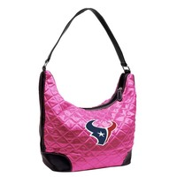 Houston Texans NFL Quilted Hobo