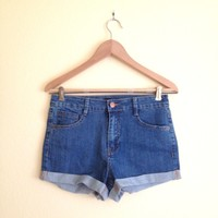 Carrie High Waisted Shorts