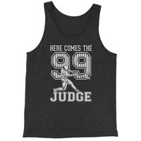 Here Comes The Judge 99  Jersey Tank Top for Men