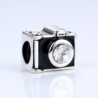 DIY Charms Camera Charm Fit Pandora Bracelets Jewelry Makings A5307