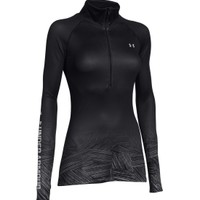 Under Armour Women's Armour ColdGear Sublimated Half Zip Long Sleeve Shirt   DICK'S Sporting Goods