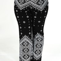 Everlasting Love Pants: Black/White - What's New - Hope's Boutique