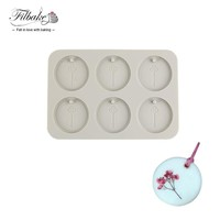 FILBAKE New Arrive Aromatherapy Silicone Mold 6 Holes Hexagonal Plaster Epoxy Soap DIY Handmade Moulds Cake Decorating Tools