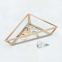 Glass Triangle Trinket Tray - Urban Outfitters