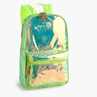 Girls' iridescent backpack - bags -Girls- J.Crew