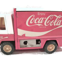 Coca Cola Toy Truck, Toys,  Buddy L, 1960s, Coke Red