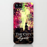 The city lights - for iphone iPhone & iPod Case by Simone Morana Cyla