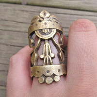 Large Cocktail Ring A Game of Thrones Big by daniellerosebean