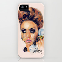 Beyonce iPhone & iPod Case by HOLLYARTT
