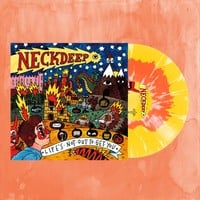 Life's Not Out To Get You Red A Side/Yellow B Side W/White Splatter Vinyl LP : HLR0 : Neck Deep