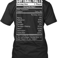 LIMITED EDITION - SOFTBALL FACTS