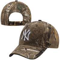 New York Yankees '47 Brand Frost Adjustable Hat – Realtree Camo