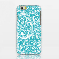 iphone 6 case,blue leaves iphone 6 plus case,blue floral iphone 5c case,personalized iphone 4 case