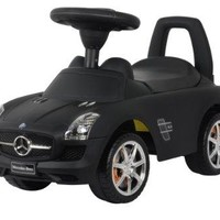 Ride On Cars Mercedes Benz Push Car Matte, Black