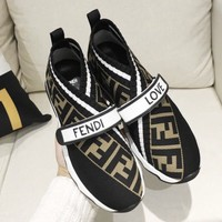 Fendi Brown Monogram Sneaker