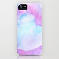 Watercolour Love iPhone Case by Ally Coxon | Society6