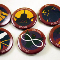 TopatoCo: Night Vale Boy Scouts Buttons