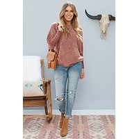 Broken Halo Sweater (Browny)