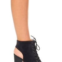 Nelly Lace-Up Booties