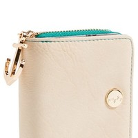 pretty ships 'Mini Norfolk' Synthetic Leather French Wallet