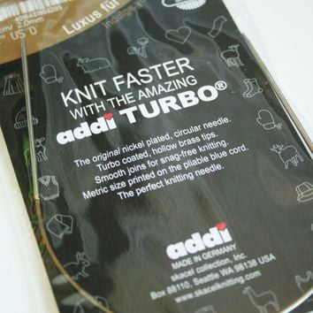 "Addi Turbo 12"" (30 cm) Circular Knitting Needles"