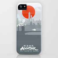 Avatar The Legend of Korra Poster iPhone & iPod Case by Fabio Castro