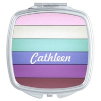 Pastel Stripes Personalized