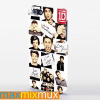 Funny 1D, One Direction Collage iPhone 4/4S, 5/5S, 5C Series Full Wrap Case
