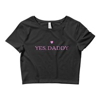 Yes Daddy Heart Top